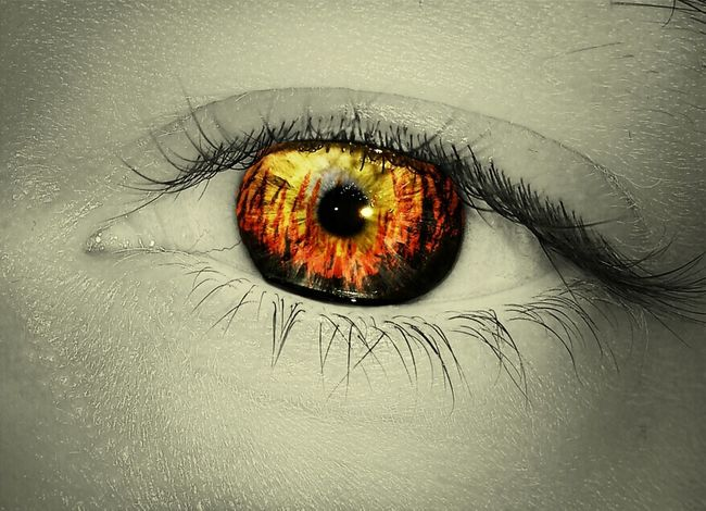 Eyes Eye Edit Feuer Augen Auge Pics By Mr_badabing