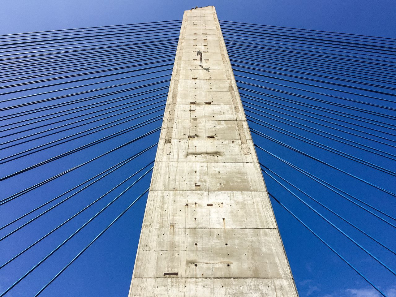 Lines Architecture Built Structure Low Angle View Building Exterior City No People Skyscraper Modern Outdoors Tall Day Sky Bridge Bridge - Man Made Structure Suspension Bridge Suspension BEIJING北京CHINA中国BEAUTY Zhuhai
