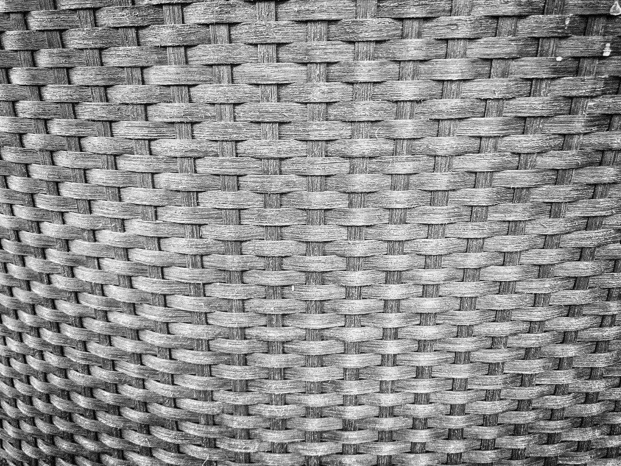 Full Frame Shot Of Wicker Design
