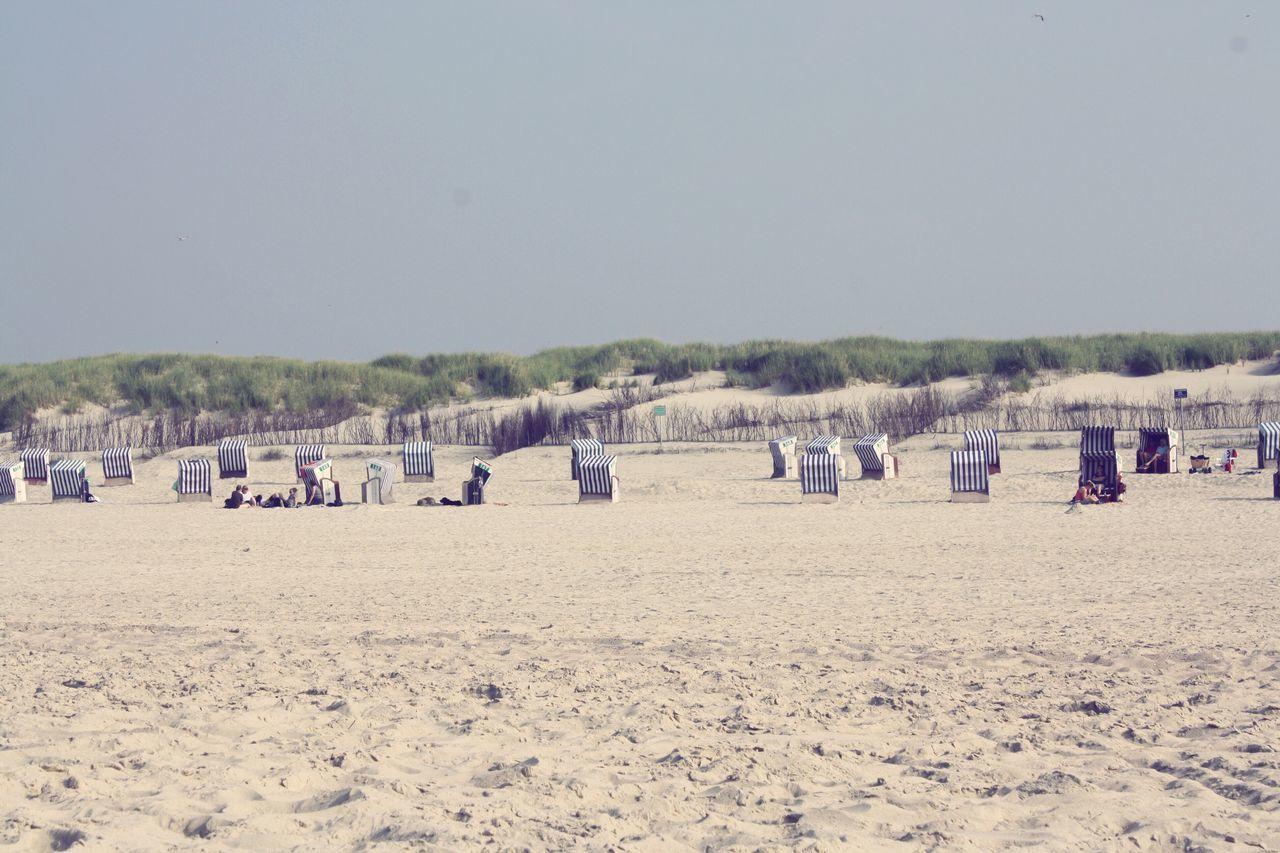 Island Beach Life // Sand Beach Nature Clear Sky Outdoors Sand Dune Idyllic Island Horizontal Summer Sunlight