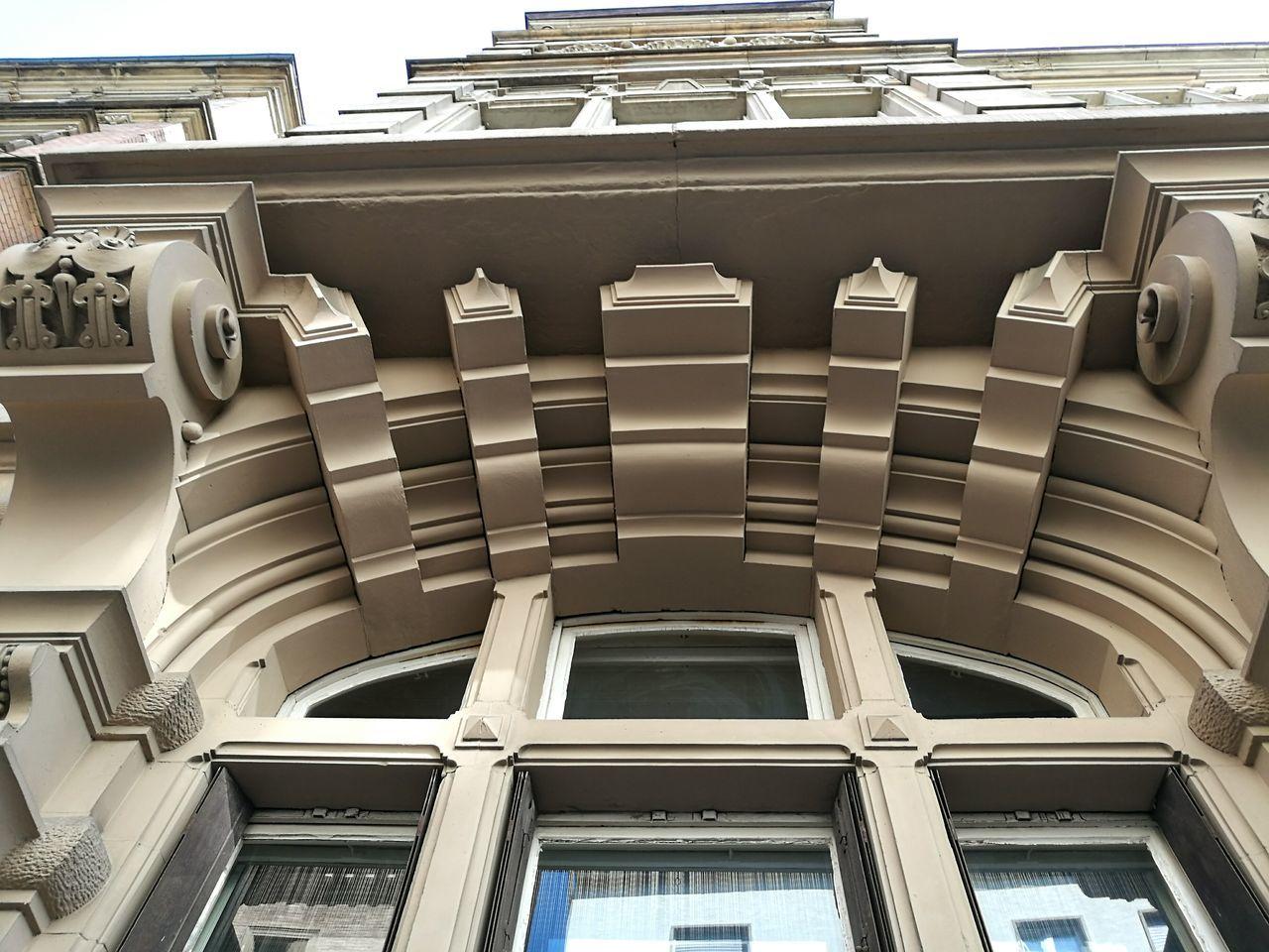 Detail of an Art nouveau House. Architecture Built Structure Stuttgartmobilephotographers Historic History Old Historical Building Art Nouveau Buildings Old Buildings Old