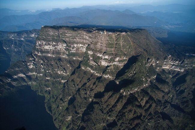 峨眉山--16 Mountain Mountain Range Aerial View Landscape Scenics No People Outdoors Mountain Peak City Nature Beauty In Nature Sky Satellite View Day