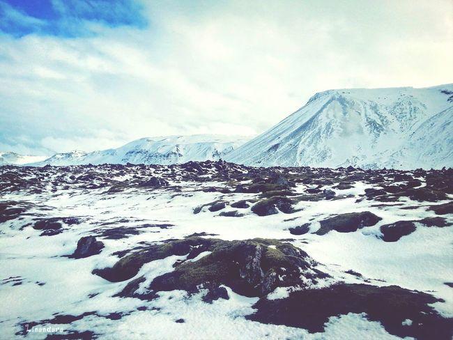 Lava & Snow ... Iceland Landscape