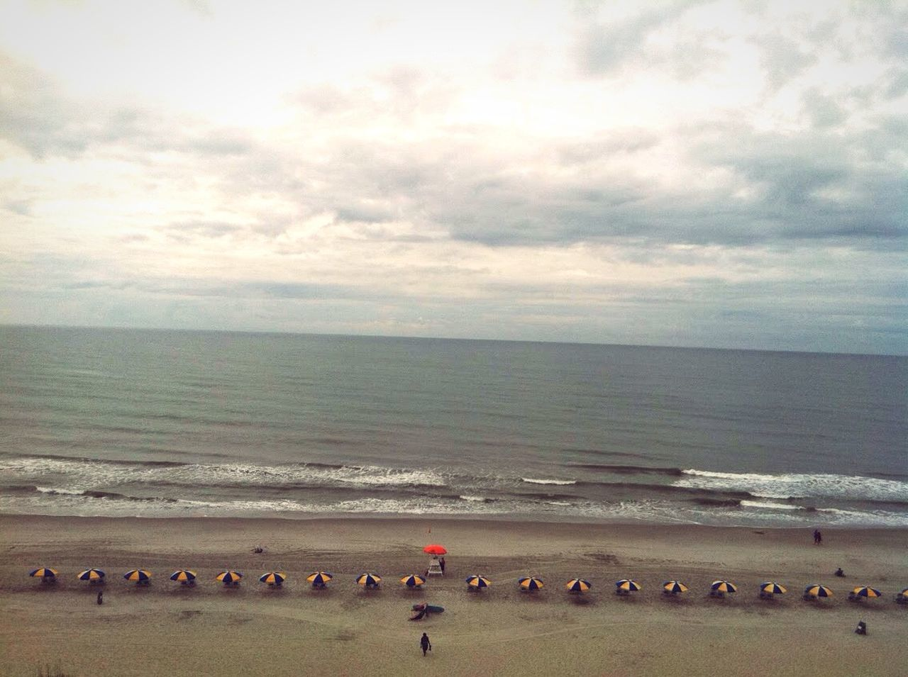 Umbrella Beach Ocean Waves Calm Water Sand Morning Blue Yellow Beachphotography Beach Photography Beach Life Beach View Ocean View Ocean Photography Oceanside Oceanview Ocean Waves Nature Photography Nature_collection Outdoorphotography Naturelovers Beauty In Nature Natural Beauty