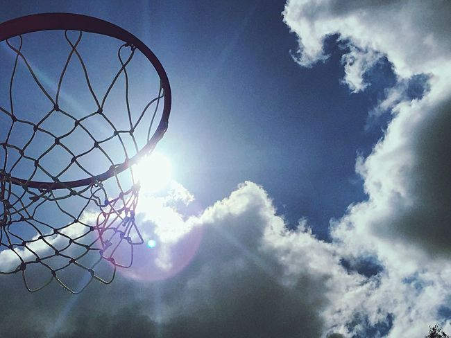Hoops and Sunshine Soaking Up The Sun Photos Around You Taking Photos Popular Photos Creative Light And Shadow Enjoying The Sun Creative Photography From My Point Of View Eye4photography