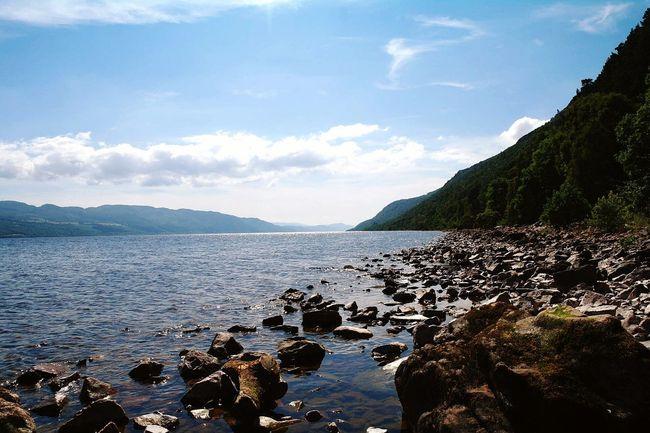 Loch  Lochness Ecosse Scotland