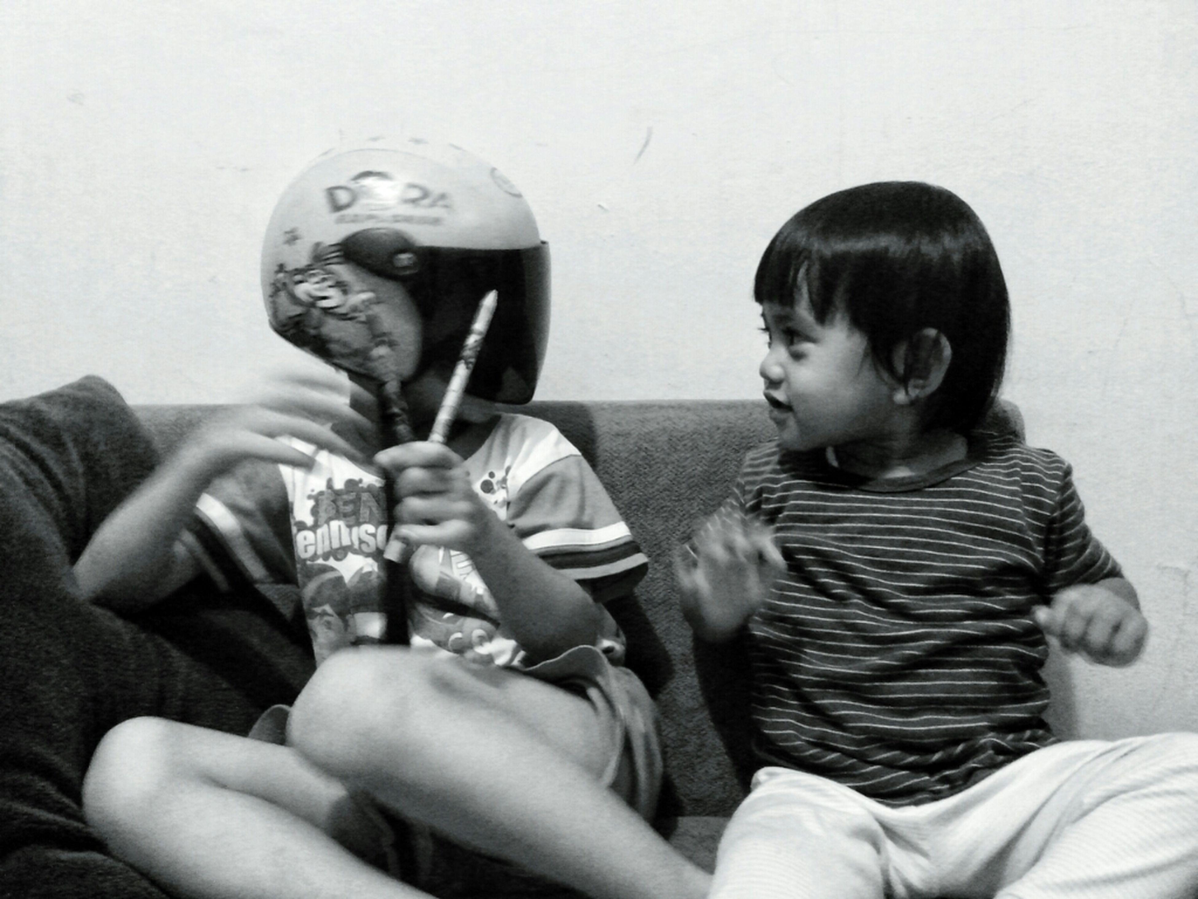 Kids Fun Blackandwhite Bw Bnw Original Fun