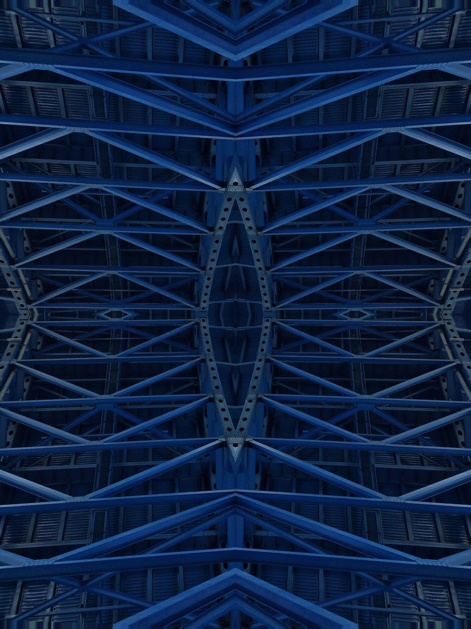 blue, full frame, backgrounds, no people, architecture, built structure, day, outdoors, complexity, illuminated, close-up