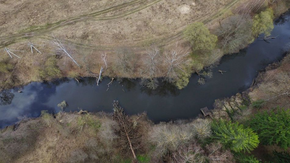 Counrty river River River Curves Spring Nature Countryside Looking Down Dji Bird Eyes View Flying Over Landscape Landscape_Collection Landscape_photography Sky Reflection Fresh Air Nature Outside In The Air Country Life