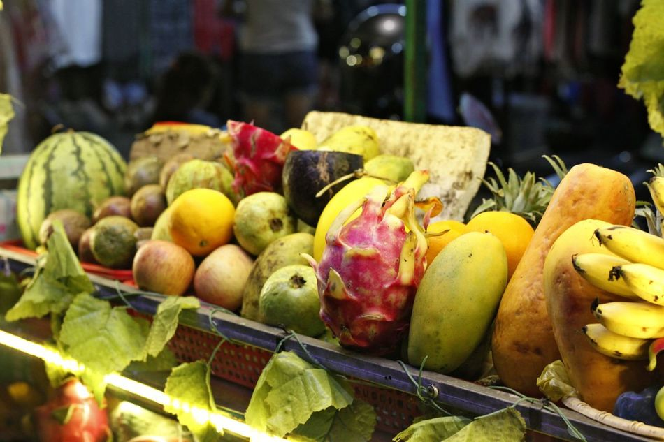 Choice Day Exotic Fruit Exotic Fruits Food Food And Drink For Sale Freshness Fruit Healthy Eating Market Market Stall Night Market In Siem Riep No People Outdoors Pear Pomegranate Retail  Tropical Fruit Tropical Fruits Variation Vegetable