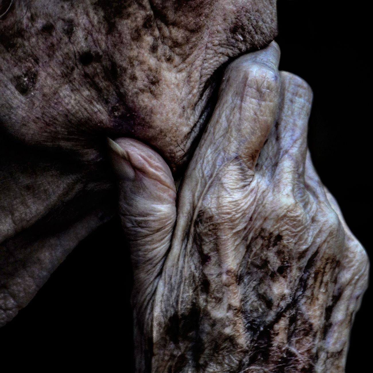 Anonymous portrait... Human Body Part Human Hand Human Skin One Person Exhibition Exhibit Art Photographic Photograph Photographer Gallery Visitor Watchers Watch See Look Looking Private Public Blurred Blur Out Of Focus Photography Documentary Reportage Street Exhibition Center One Woman Only Contemplation Wrinkled Street Portrait EyeEm Best Shots RePicture Ageing The Human Condition Exhibition Pieces Portrait Beauty Adult Touching Real People Human Representation Streetphotography People Adults Only Human Face Facial Expression