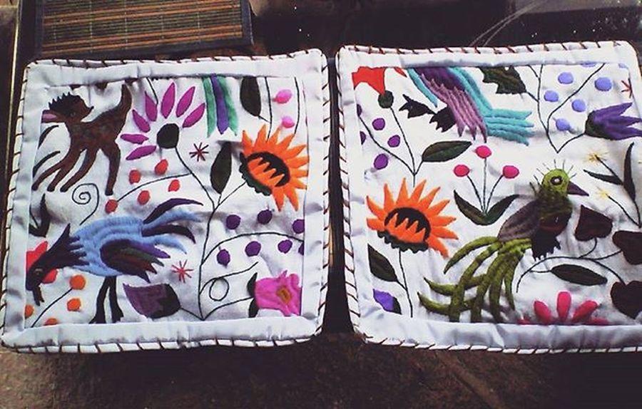 Textiles Telares Chiapas Cojines Telasmexicanas Pueblomagico