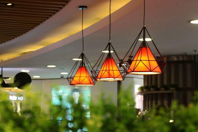 Architecture Built Structure Decoration Electricity  Hanging Illuminated Interior Design Lighting Equipment Lighting Equipment Lights Orange Orange Color