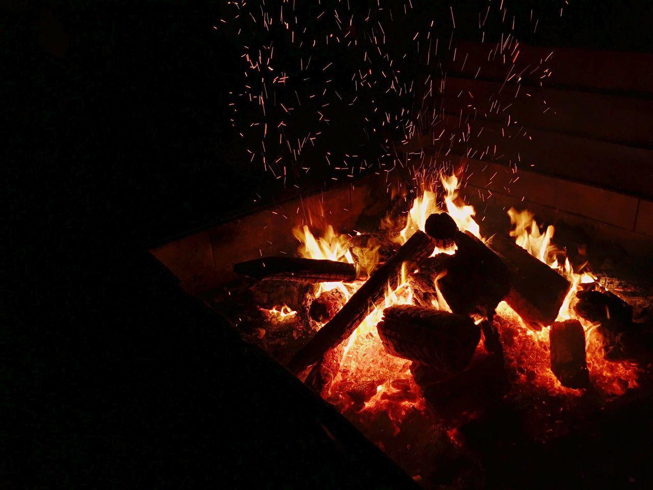 Kagaribi Bonfire NewYear