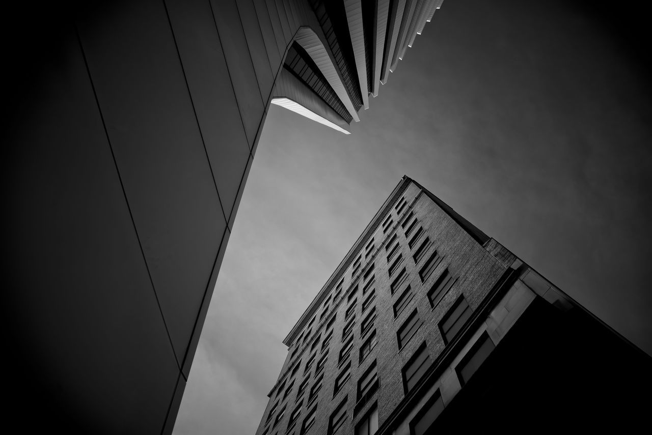 Architectural Architecture Building Exterior Built Structure City Day Design Distorted Low Angle View Modern Perspective View Rochester, NY Sky Skyscraper The Architect - 2017 EyeEm Awards Urban Wide Angle