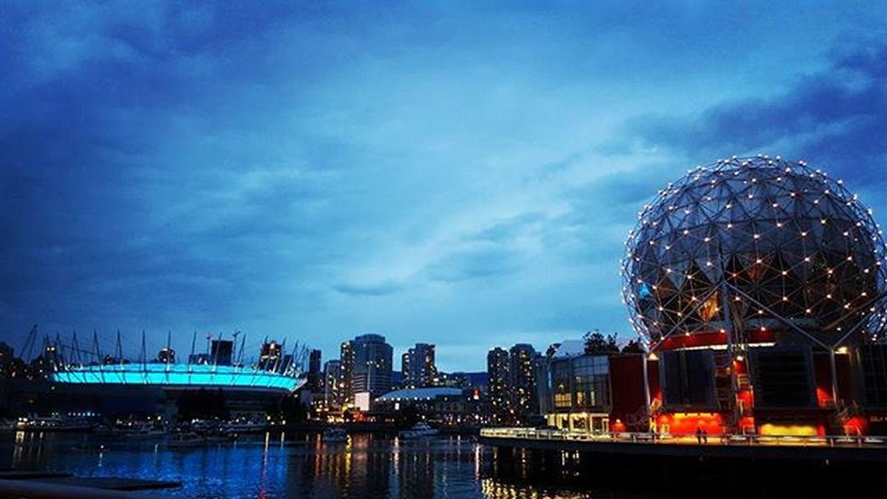 🌃 Vancouver Bcplace Scienceworld Vancity Vancitybuzz Vancityhype Awesome_photographers @imagesofcanada Imagesofcanada