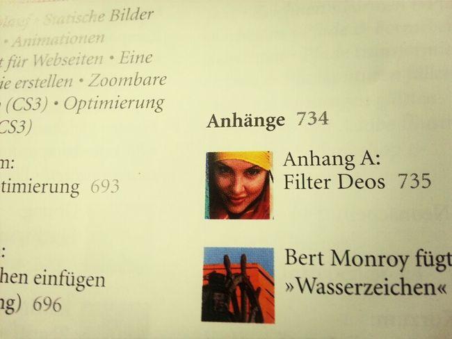Superrubrik in 'Das Photoshop WOW! Buch' Filter Deos #transpirant #geruch