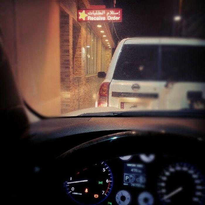 Lexus Lx570 Nissan Vtc hardees Qatar Doha fast-food