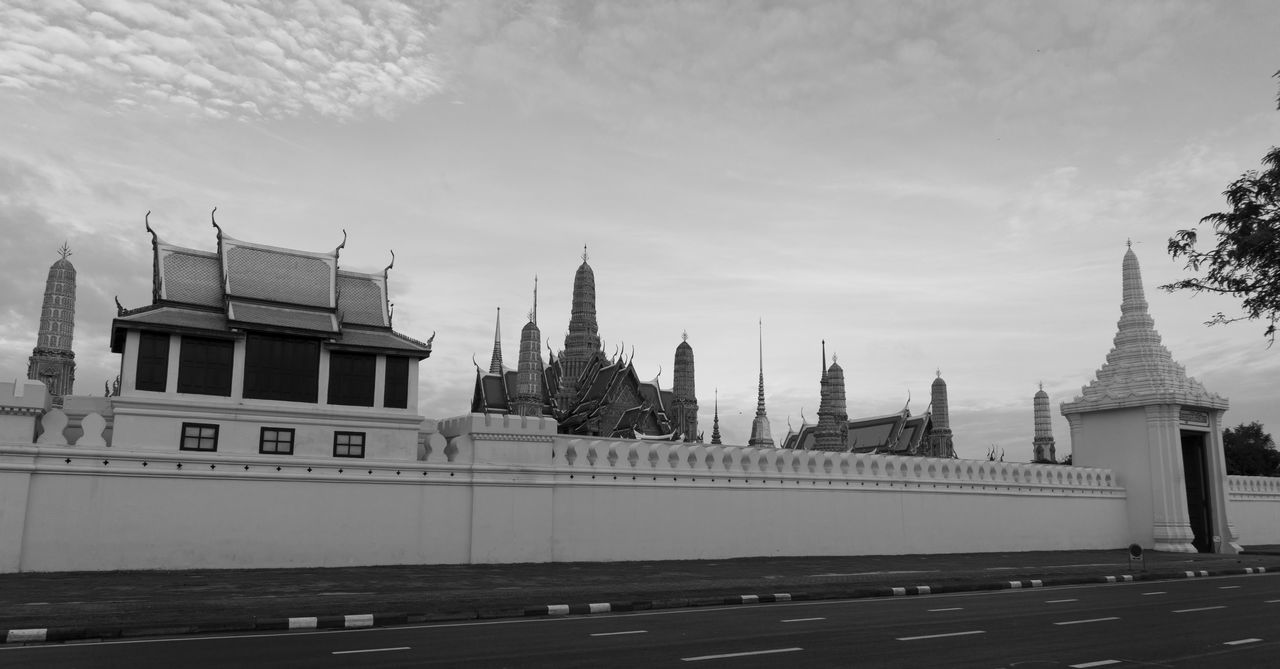 Architecture Building Exterior Built Structure City Clock Tower Cultures Day Grand Palace Bangkok Thailand History Horizontal King Bhumipol Adulyadet No People Outdoors Sky Travel Travel Destinations Tree