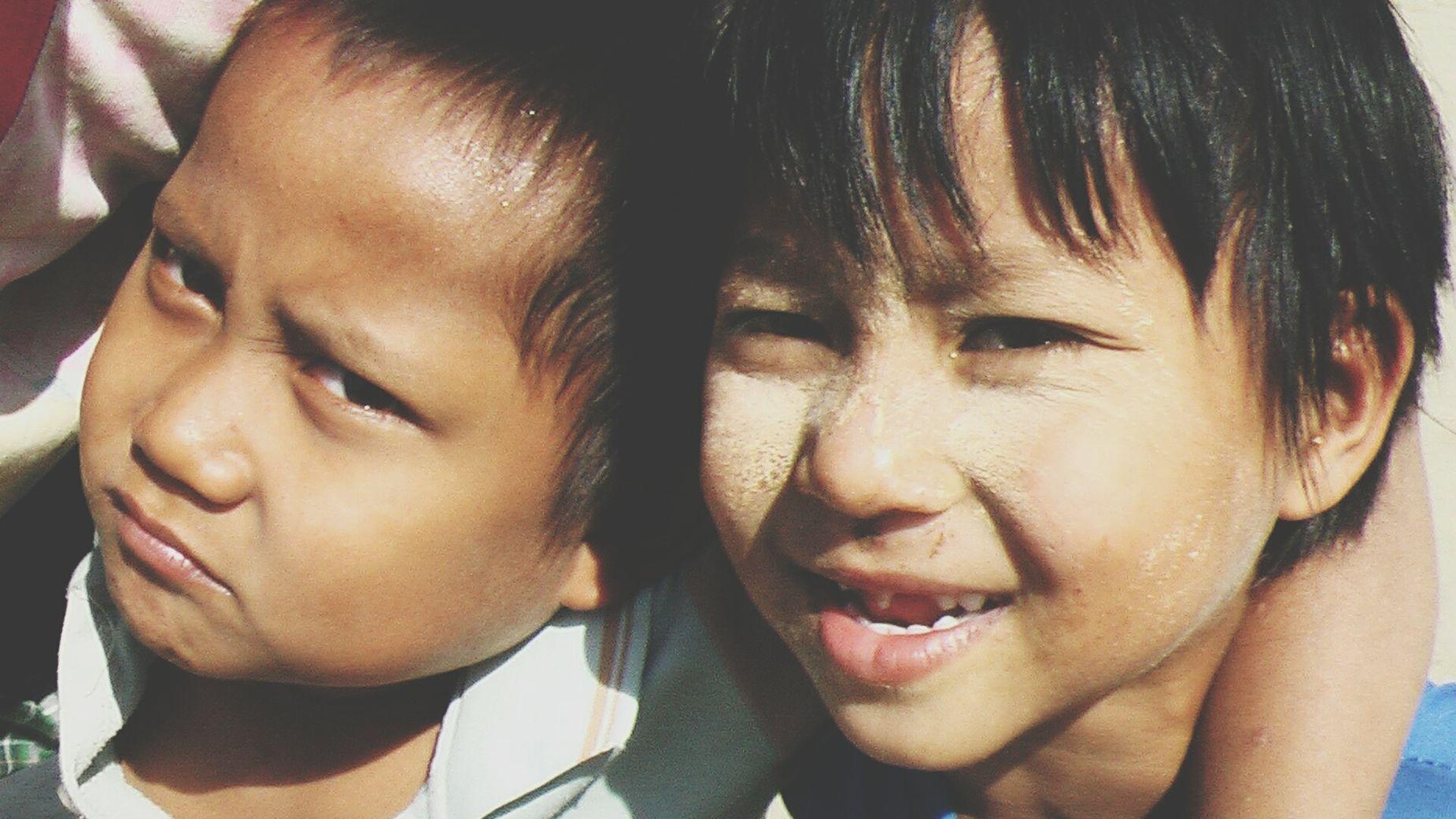 Myanmar Myanmar Kids Kids ASIA Asian World The Portraitist - 2015 EyeEm Awards Portrait Smile Boys And Girls Faces