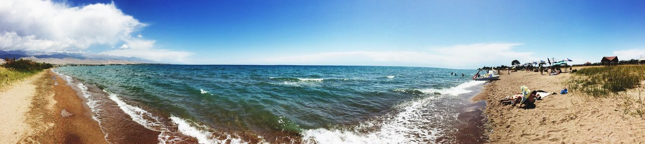 Lake Panoramic Lake View