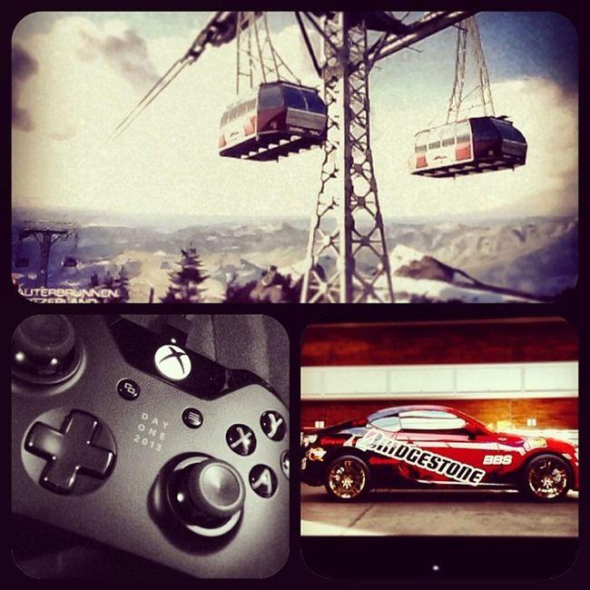 1st race Forza5  XboxOne Microsoft Nextgen racing xbone shiny