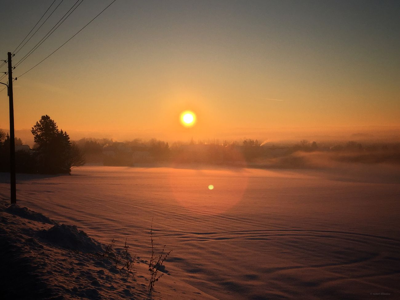 Nutzung im Morgenrot Sunset Morning Morning Sun Beauty In Nature Winter Snow Outdoors Sun Taking Photos Wintertime Enjoying Life Germany Oberlungwitz Cold Temperature Driving Around Exploring
