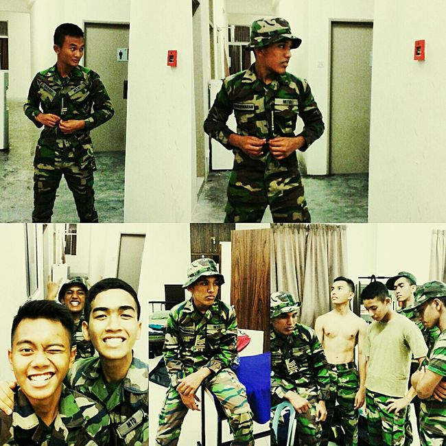 We are what we are Armyboy Loreng