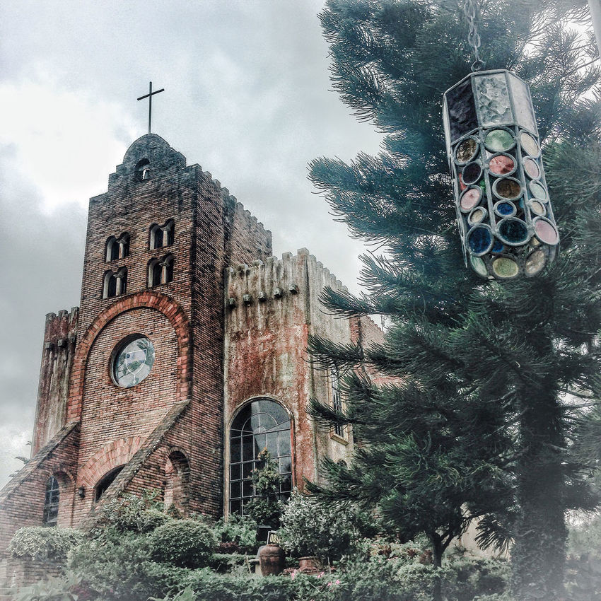 Caleruega Church Tagaytay Iphoneedits IPhoneography Liveforlove POTD Church Misty Photoshopfix Caleruega Caleruegachurch
