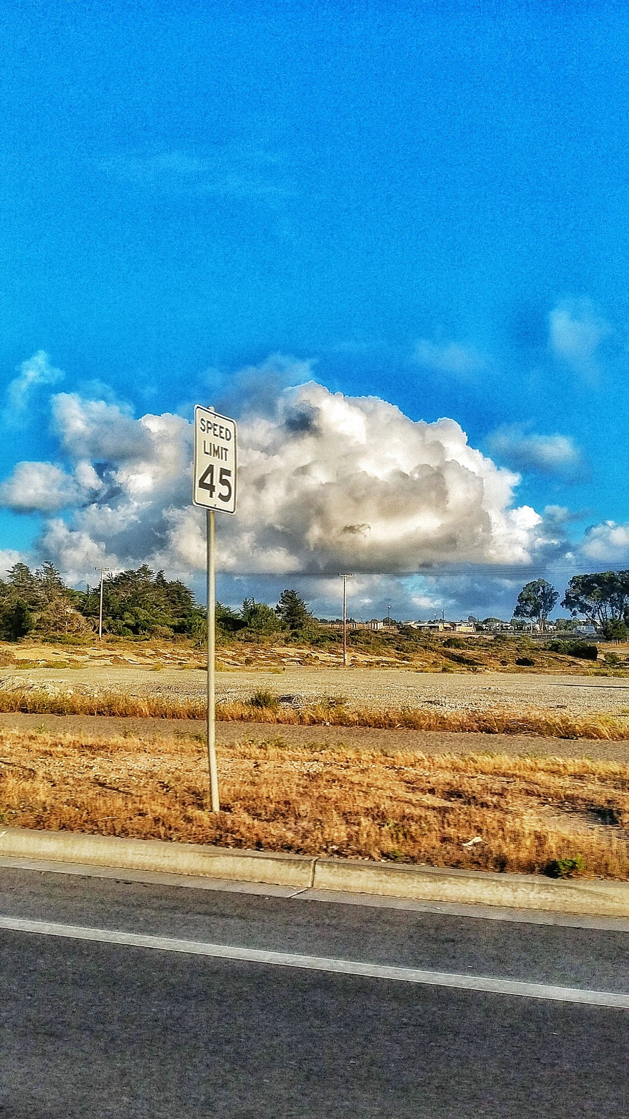 Slow down Cloud, speed limits 45! Lol Taking Photos Lonelycloud