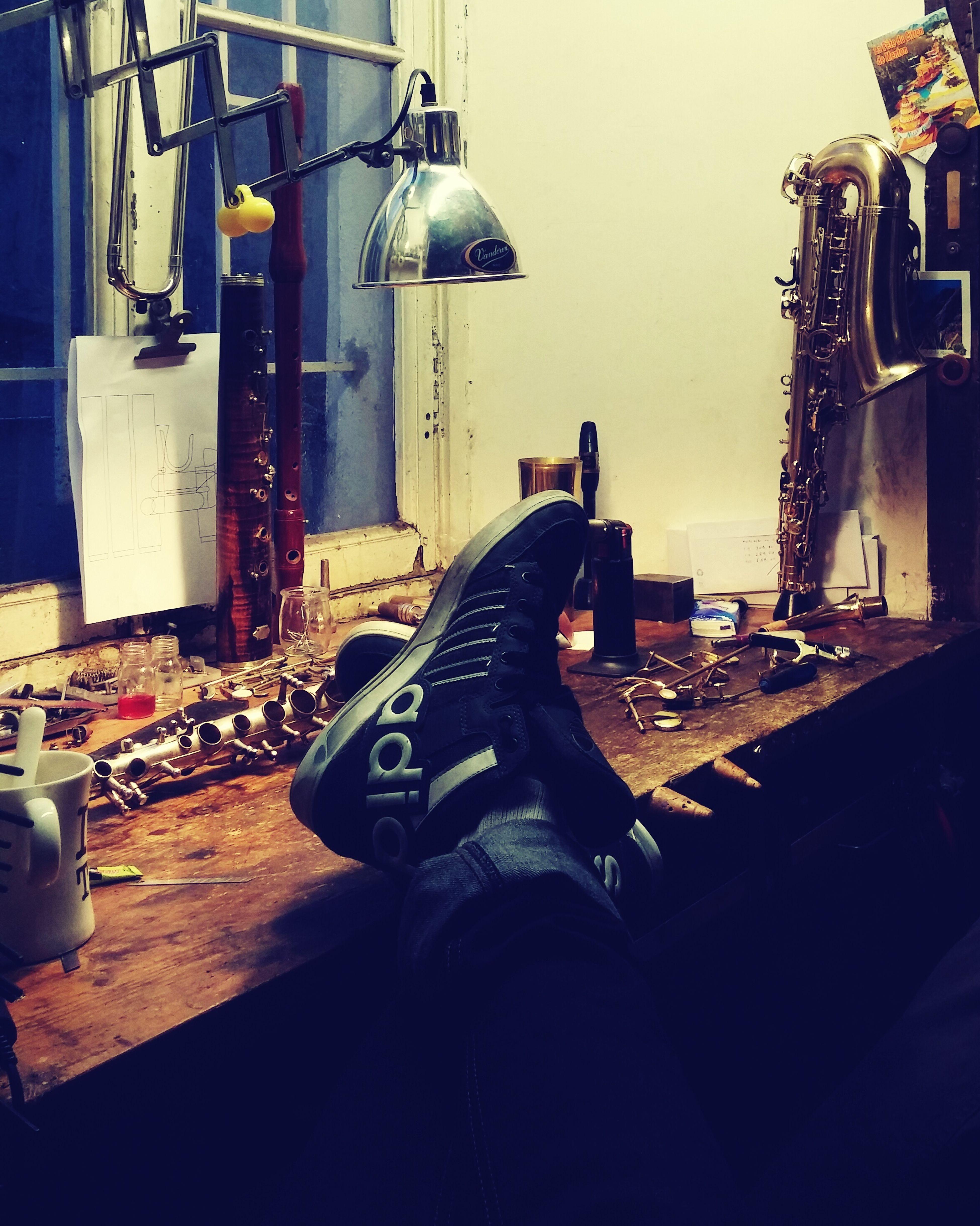 Petit pause atelier!!! Music Toutpourlamusique Nice France