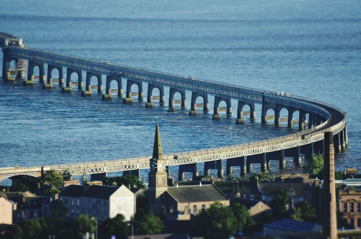 The Tay Railway Bridge in Dundee Miniature First Eyeem Photo