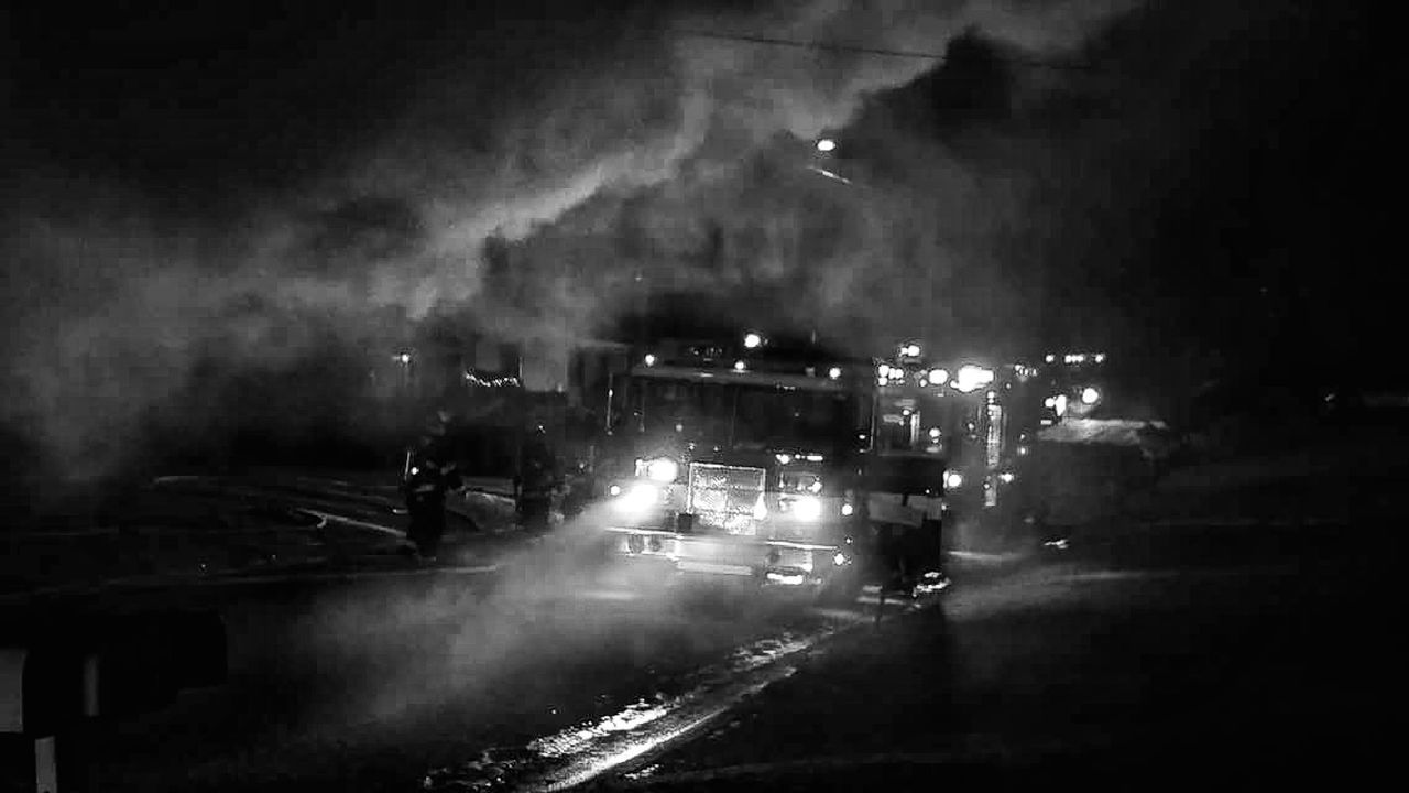 Sometimes it amazes me the power an image can have on me. Surreal. Firefighter Honor Pride Service Responsibility Sacrafice  Commitment Always Ready The Calling Smoke - Physical Structure Night Apparatus