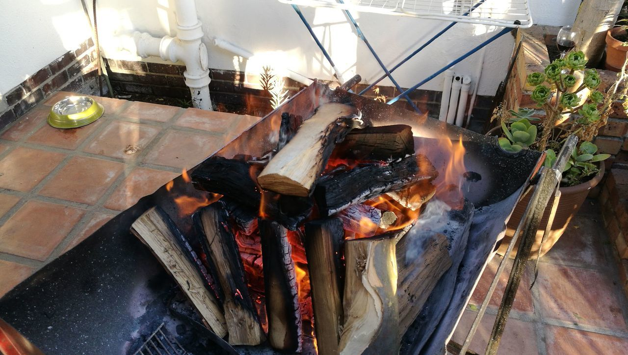Heat - Temperature Smoke - Physical Structure Outdoors Braai Fire, Barbecue,