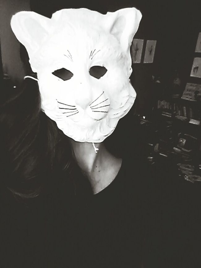 Meow... I'm A Cat. Meow Black And White Was Diferent Today That's Me