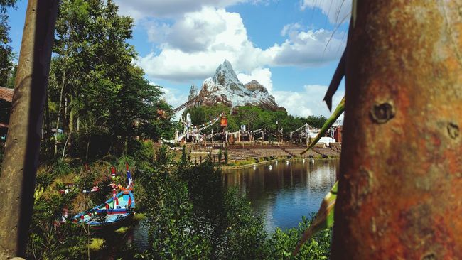 DisneyWorld Animal Kingdom Theme Park Mount Everest Vacation 2016