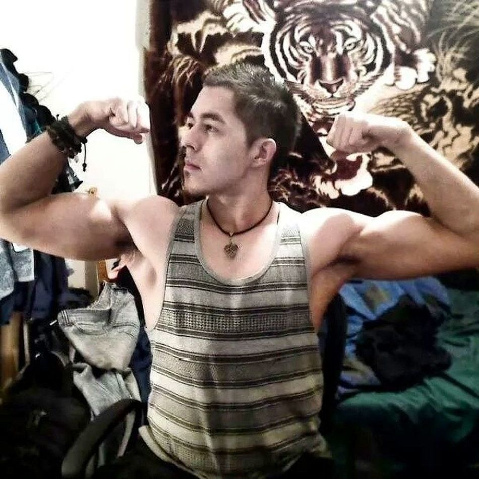 Pic from last year, Gym Gainz Bored Pinoy Selfie Natty 2013