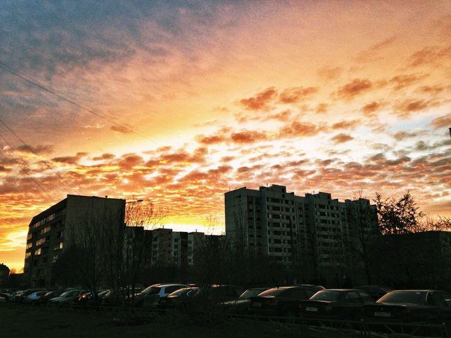 Sunset Cloudporn Sky Beautiful