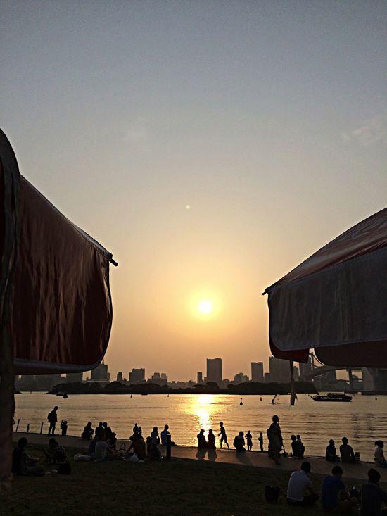 Odaiba Tokyo Photo By Taqmi Sunset
