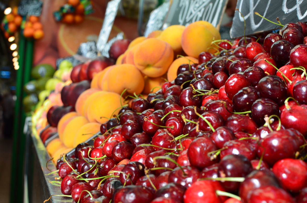 Close-Up Of Fruits For Sale