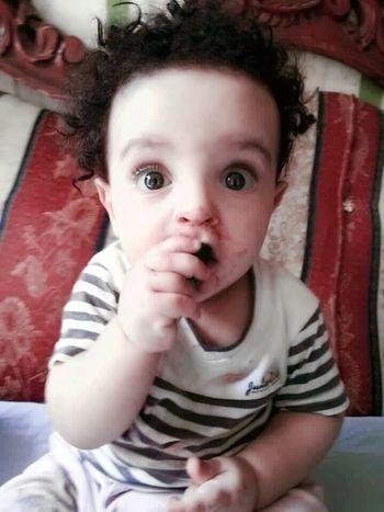 Hi! Hello World myson baby innocent