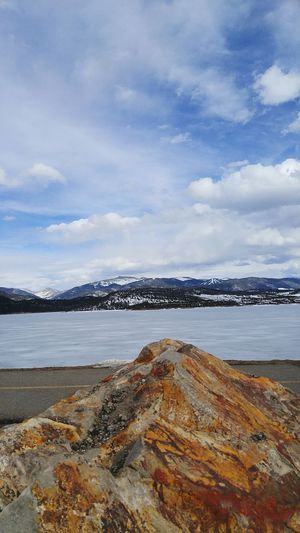 Geology Mountains Horizon Over Water Beauty In Nature Tranquility Water Outdoors Nature Coloradophotographer Mountain Winter Beauty Lovetotravel Travel Simple Things In Life Tranquility Colorado Photography Colorado Beauty In Nature Landscape Sky Polar Climate Simplicity Simple Photography