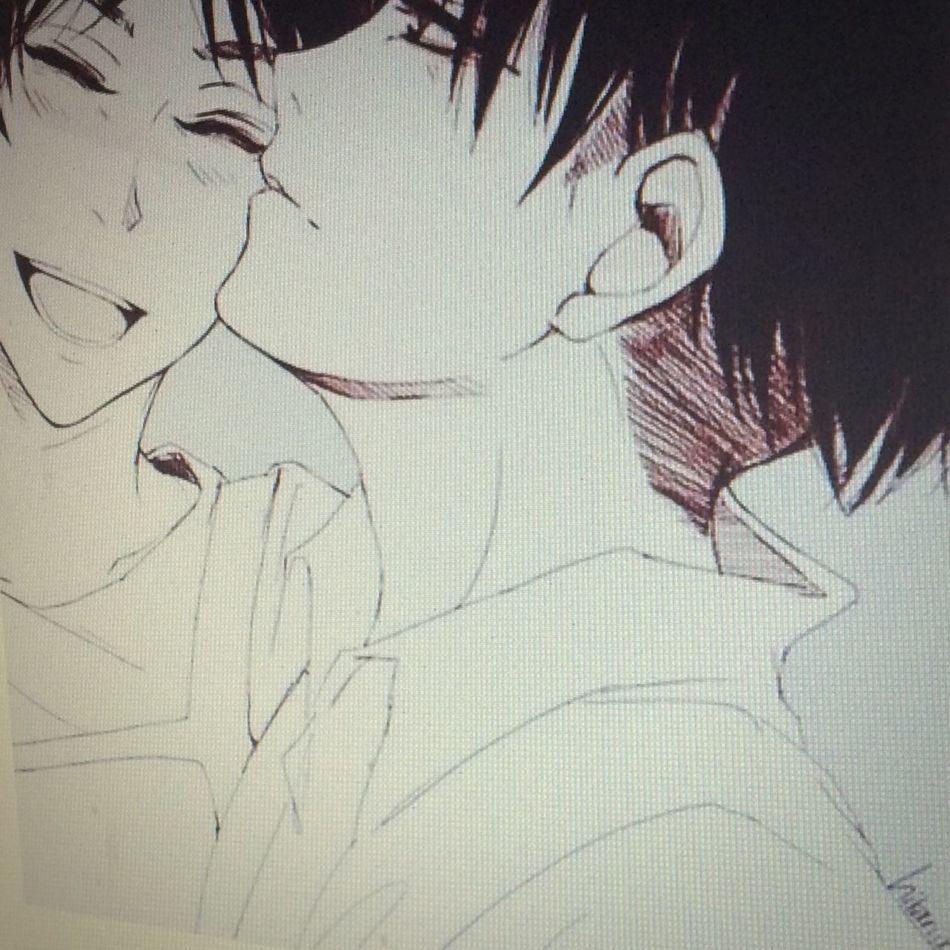 Ereri First Eyeem Photo Snk Anime Eren X Levi KAWAII Kawai desu 😍