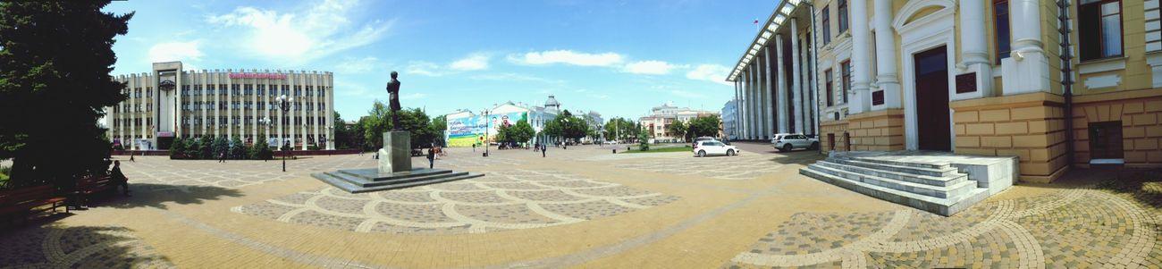 краснодар красиво площадь Панорама