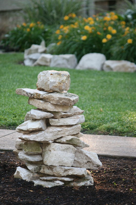 Balance Close-up Day Flowers Focus On Foreground Grass Growth Nature No Filter No Edit No People No People, Outdoors Rock Boarder Stack Stack Of Rocks Stack Of Stones Stones Tranquility Tree