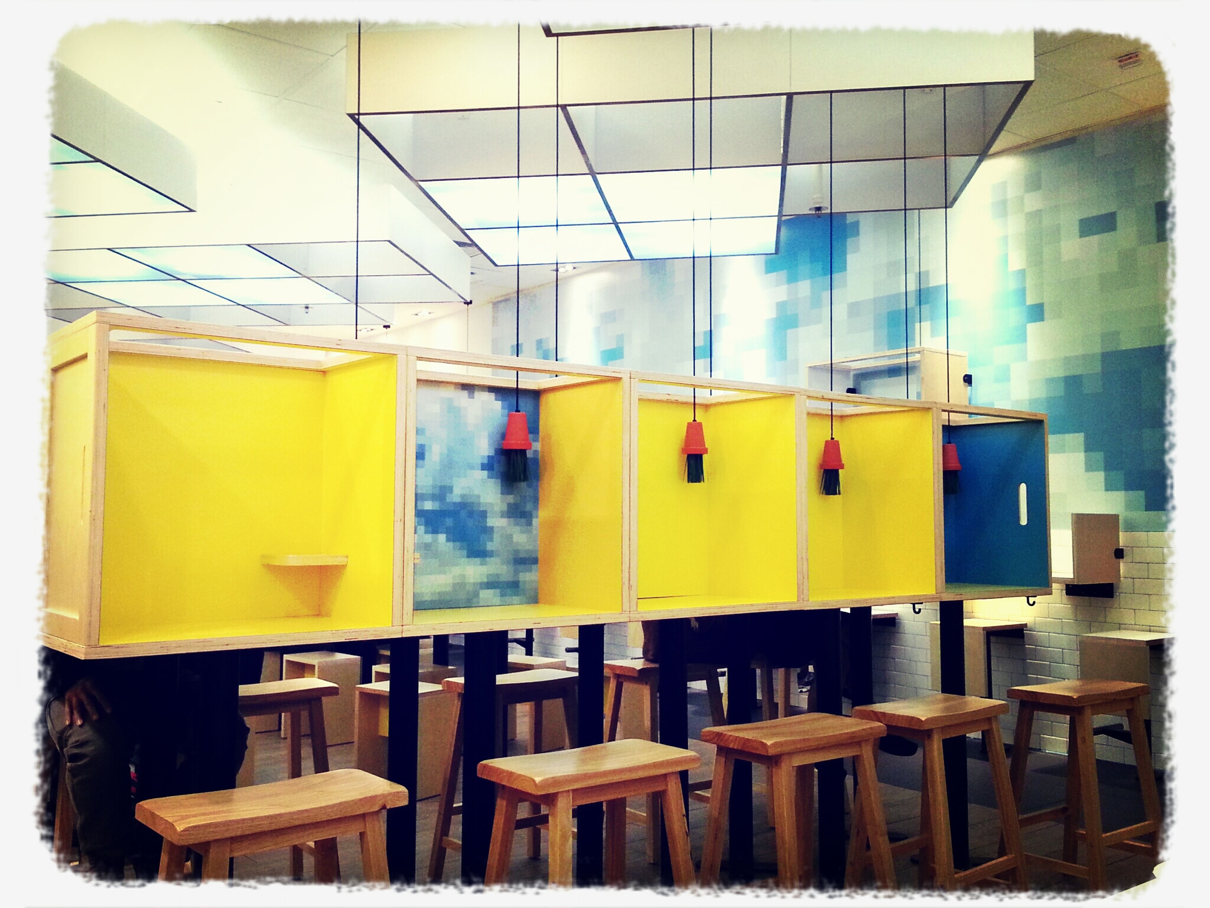 box, new decorations of McDonald