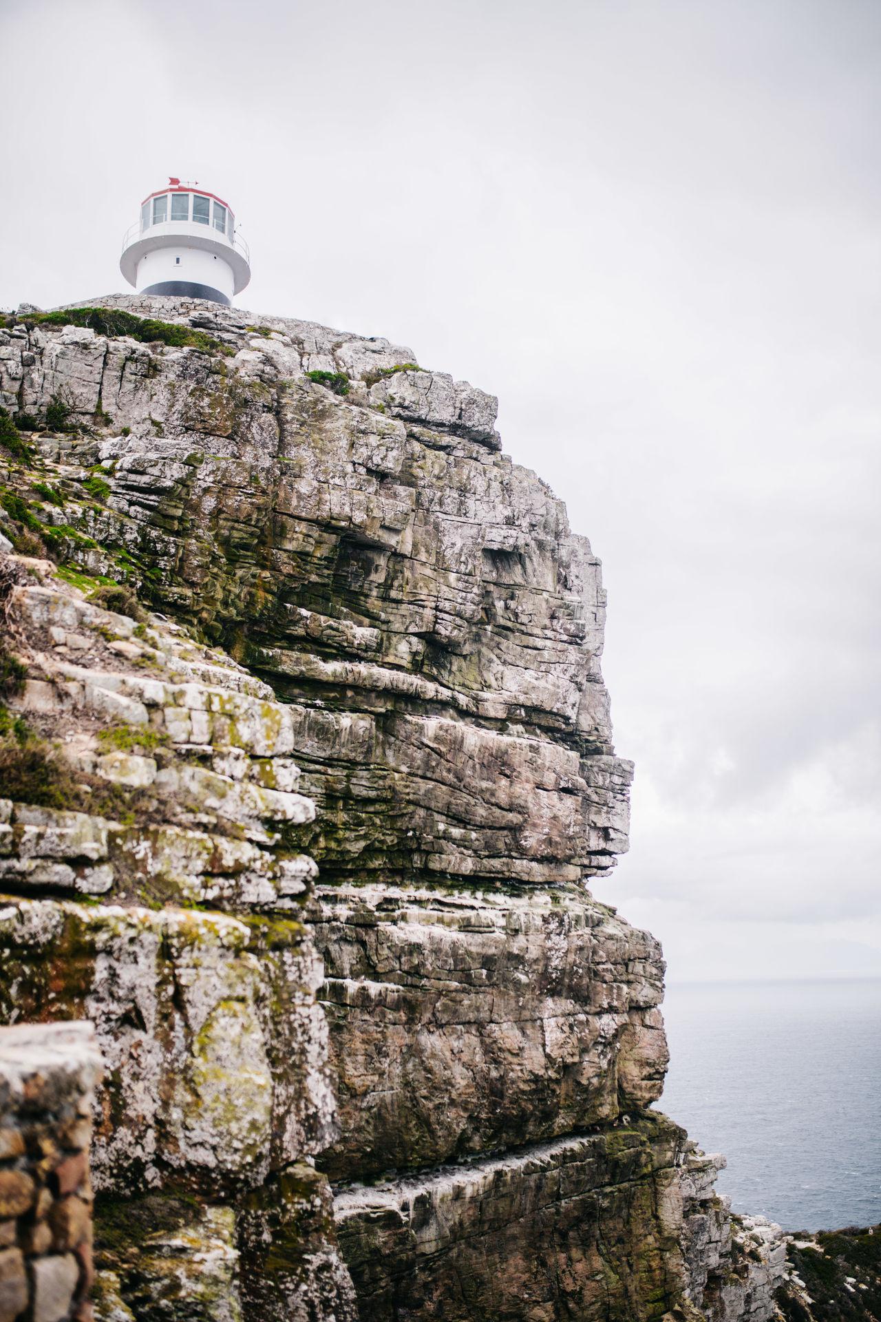 Cape Point Lighthouse Mountain