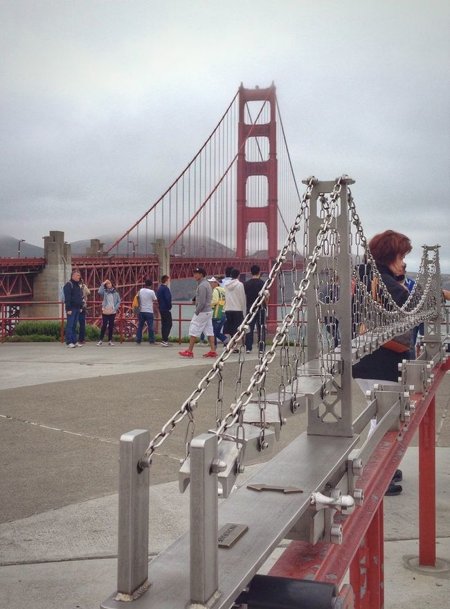 Perfect Match Golden Gate Bridge San Francisco Seeing The Sights