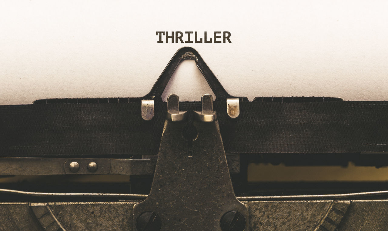 Close-up Communication Letters No People Paper Text Theme Thriller Topic Type Typewriter