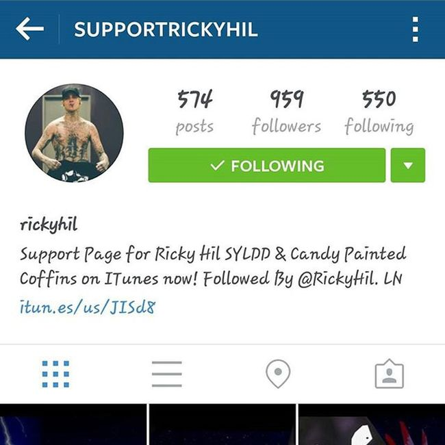 Buildin it up... respect. :-) RichHil @rickyhil @supportrickyhil Nolimos